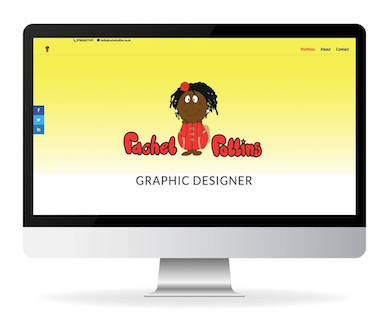 rachel rollins graphic designer website
