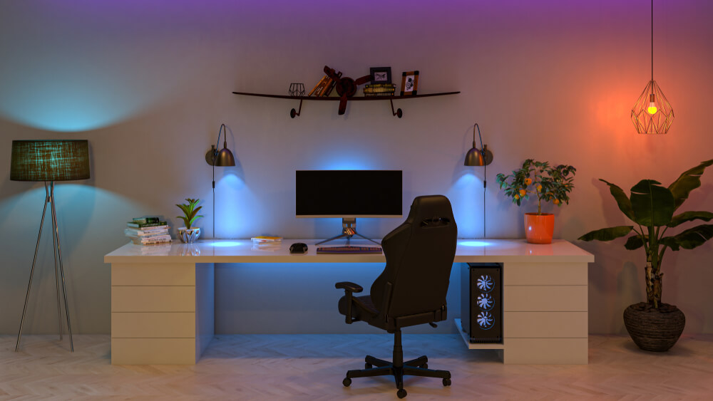 11 Hot Tips to Organize Your Home Office - lighting