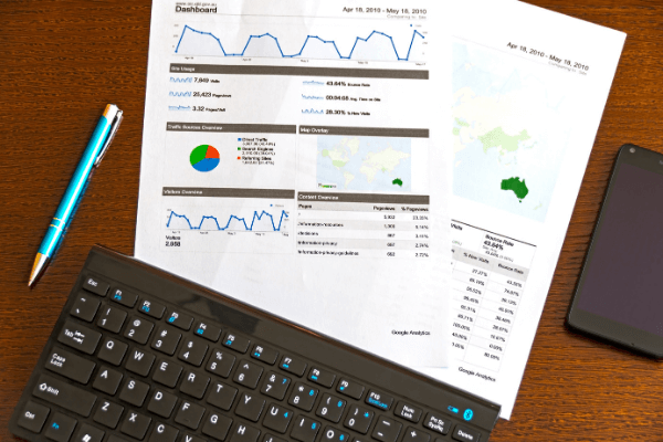 Why You Need A Strong SEO Strategy And A Way To Gauge Results - analytics report