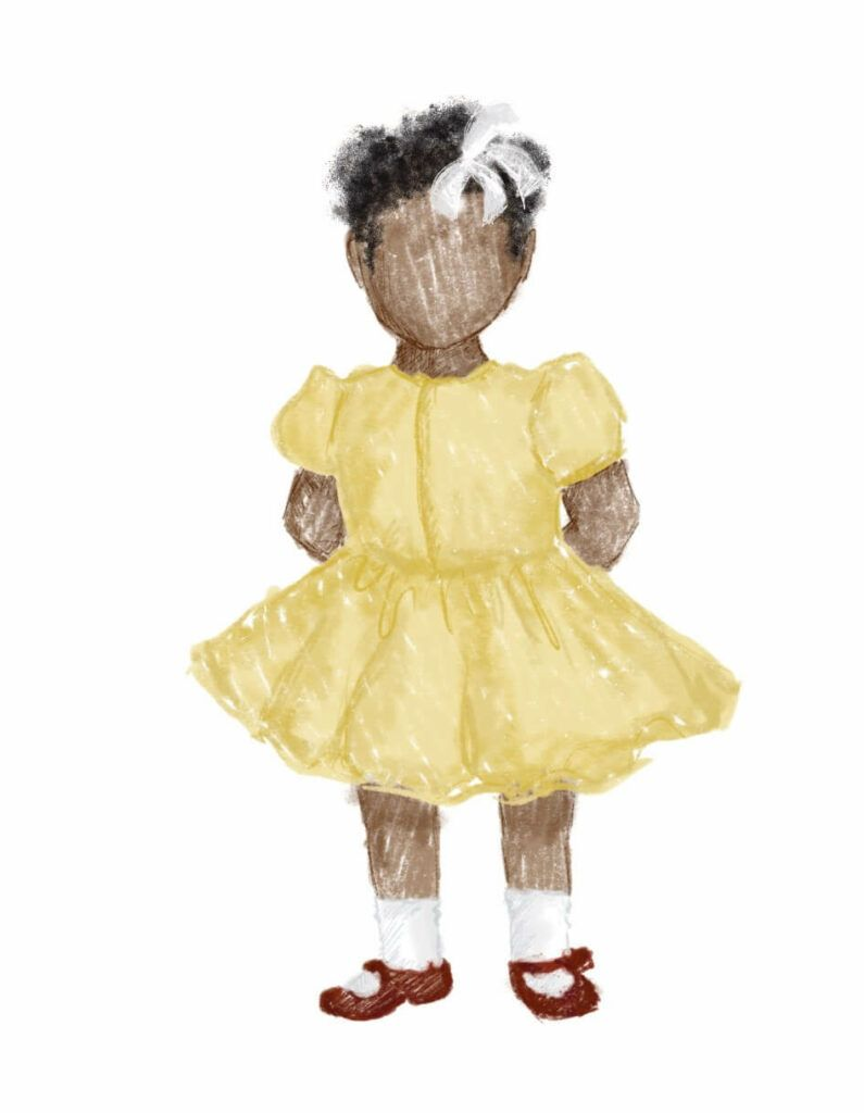illustration-of-little-girl-in-yellow-dress-the-virtual-click